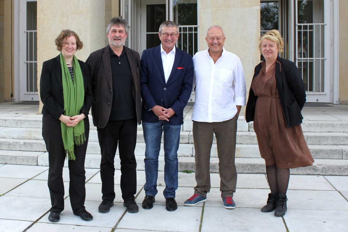 Our 2016 jury (left to right): Dr. Katja Schumann, Matthias Creutziger, Stefan Heinemann, Dieter Jaenicke, Kristin Dittrich (Foto: PR)